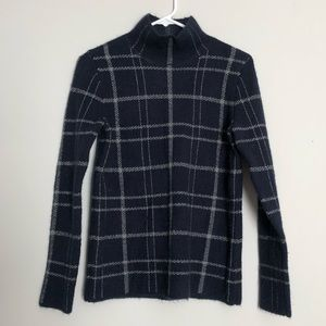 Tartan Mockneck Sweater